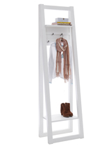 Clothes rack made of solid wood
