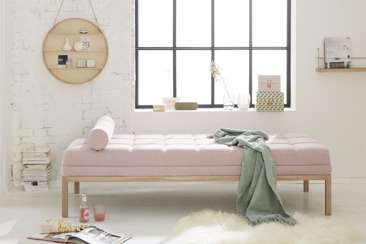 Mit Rosé als Farbe Wohn-Highlights setzen