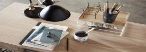 Schreibtischorganisation -