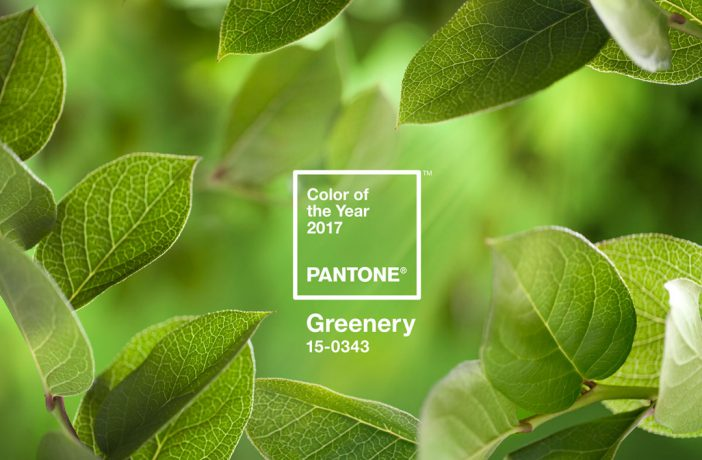 "Trend: Pantone Farbe des Jahres ""Greenery"""
