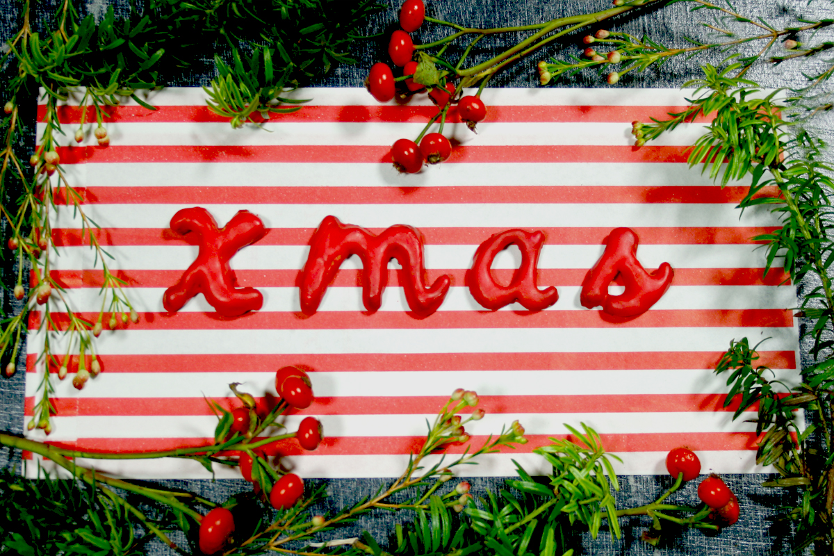 Vom Naschen der Plätzchen und Tischdeko für Weihnachten