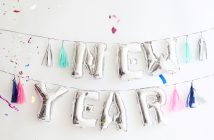 Über Silvester & gute Vorsätze fürs neue Jahr