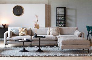 beigefarbenes Sofa von Zuviel