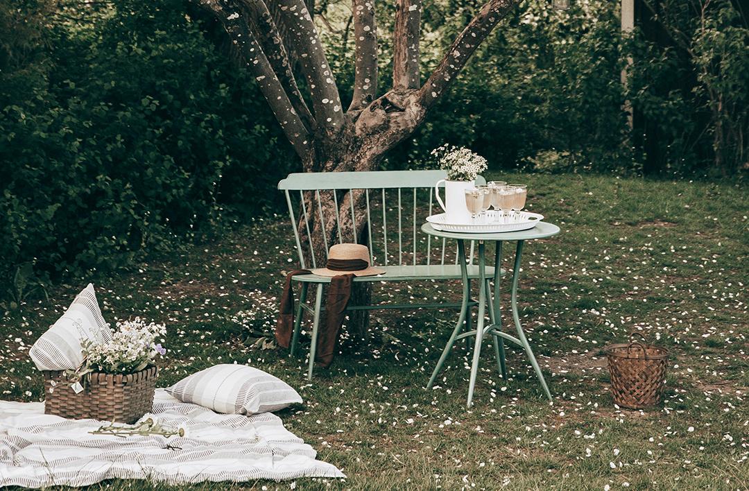 Frische Deko-Ideen für deinen Garten