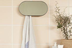 Kleines Badezimmer ganz groß: Mit dem 2-in-1-Spiegel