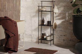 Kleines Bad mit kompakten Möbeln einrichten
