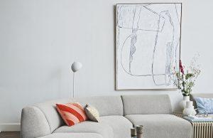Große Bilder sind eine tolle Idee als Wandgestaltung im Wohnzimmer