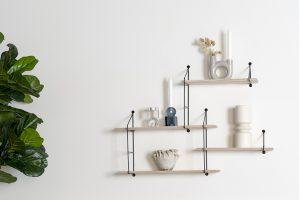 Dekorativ und praktisch: Wandregale