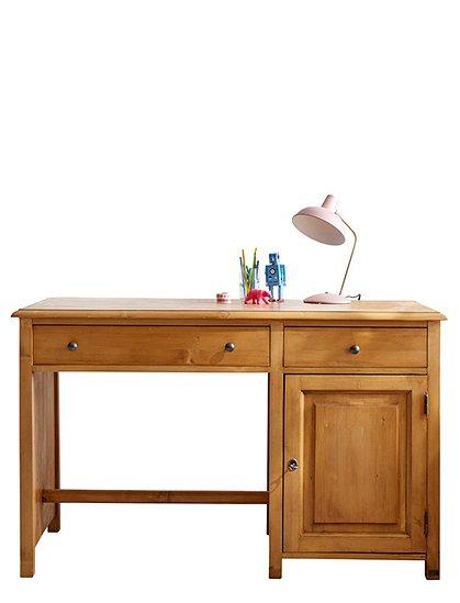 Schreibtisch Kinder Massivholz   car möbel