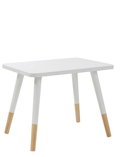 Kindertisch weiß   car möbel