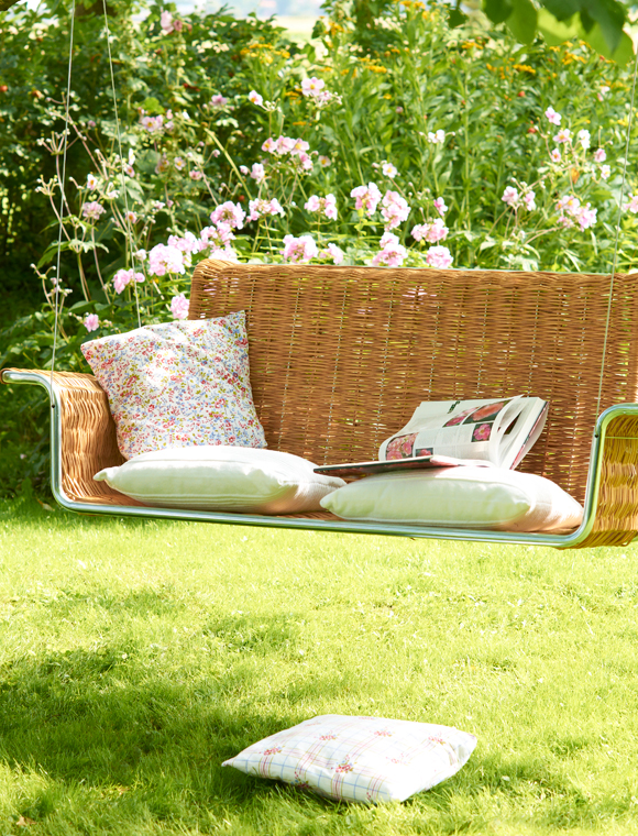 h ngeschaukel weidengeflecht car m bel. Black Bedroom Furniture Sets. Home Design Ideas