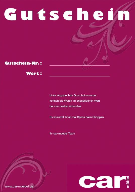 Möbel De Gutschein : gutschein car m bel ~ Watch28wear.com Haus und Dekorationen