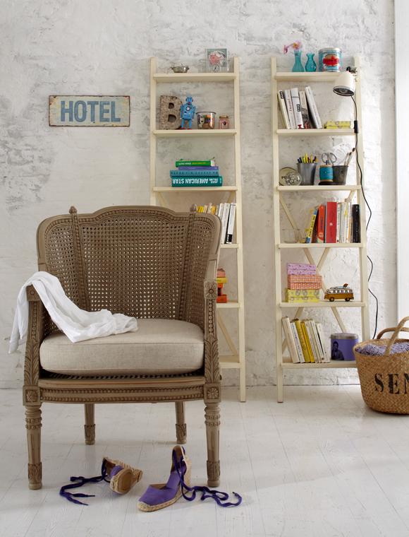 leiterregal antikfinish car m bel. Black Bedroom Furniture Sets. Home Design Ideas