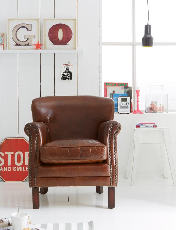 sessel oxford leder braun car m bel. Black Bedroom Furniture Sets. Home Design Ideas
