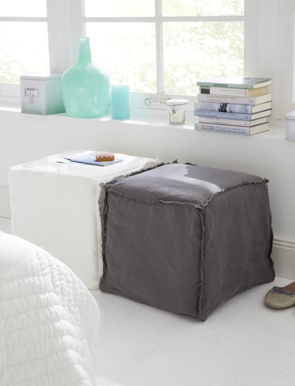 hocker mit husse von opjet paris car m bel. Black Bedroom Furniture Sets. Home Design Ideas