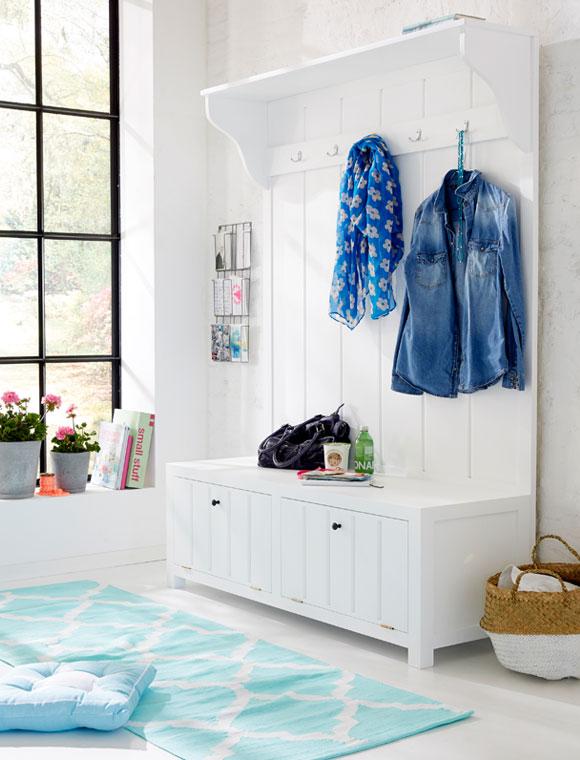 wandgarderobe landhausstil car m bel. Black Bedroom Furniture Sets. Home Design Ideas