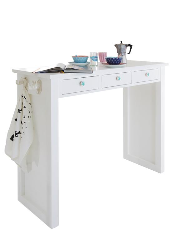 bartisch wei car m bel. Black Bedroom Furniture Sets. Home Design Ideas