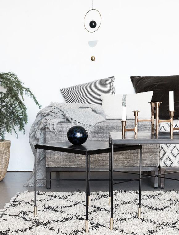 beistelltisch ox grey von house doctor car m bel. Black Bedroom Furniture Sets. Home Design Ideas