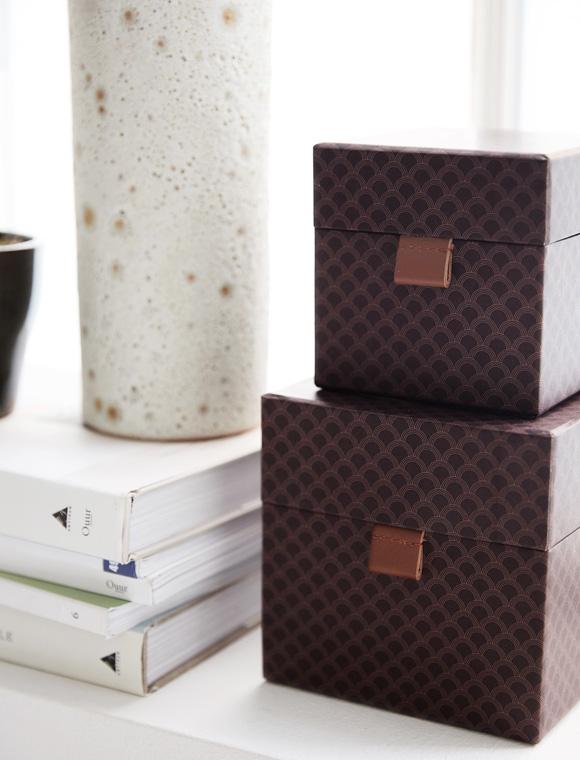 aufbewahrungsboxen quadratisch von house doctor car m bel. Black Bedroom Furniture Sets. Home Design Ideas