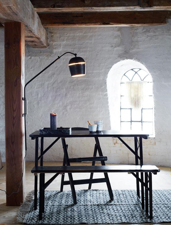 wandlampe von madam stoltz car m bel. Black Bedroom Furniture Sets. Home Design Ideas