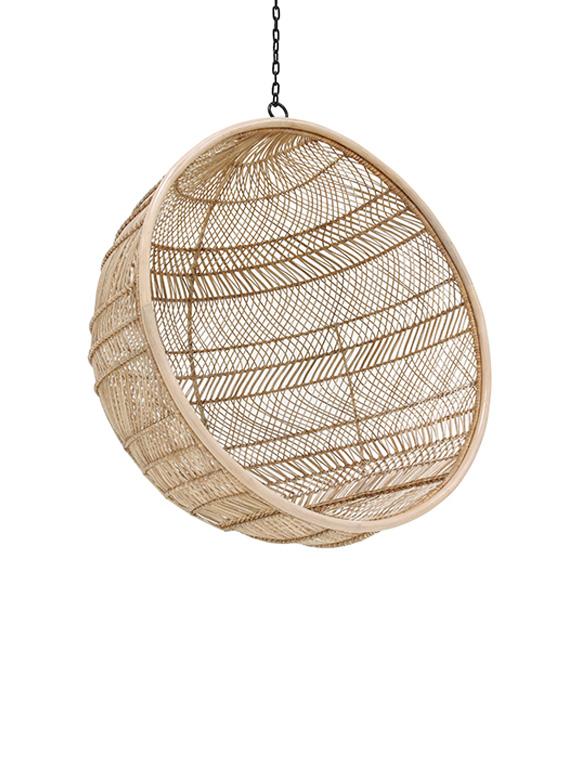 h ngesessel ball von hk living car m bel. Black Bedroom Furniture Sets. Home Design Ideas