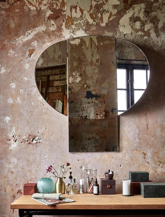 spiegel pilz von house doctor car m bel. Black Bedroom Furniture Sets. Home Design Ideas